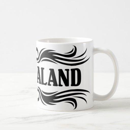 Nueva Zelanda tribal Taza De Café