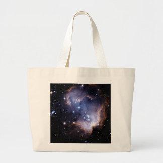 Nuevamente formación de las estrellas bolsa tela grande