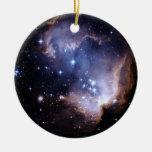 Nuevamente formación de las estrellas ornamento de reyes magos