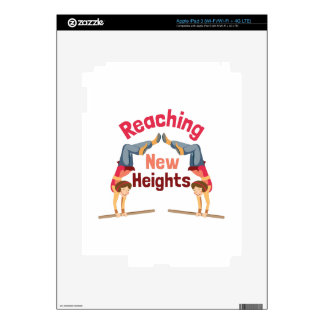 Nuevas alturas pegatinas skins para iPad 3
