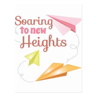 Nuevas alturas postales