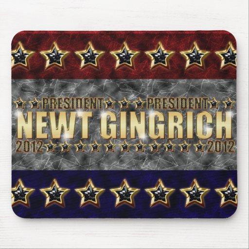 Nuevas barras y estrellas de Gingrich Mousepads