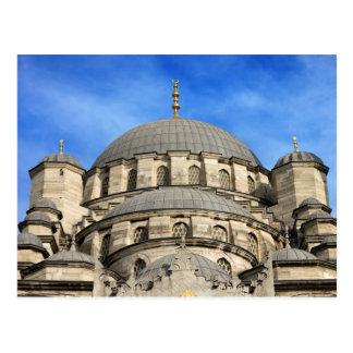 Nuevas bóvedas de la mezquita en Estambul Tarjeta Postal