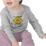 Nuevas camisetas divertidas personalizadas del beb