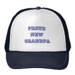 Nuevas camisetas orgullosas del texto de la Abuelo Gorro De Camionero
