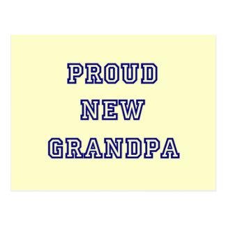 Nuevas camisetas orgullosas del texto de la Abuelo Postales