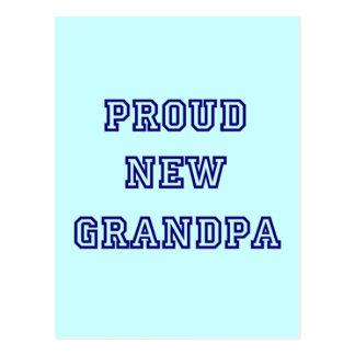 Nuevas camisetas orgullosas del texto de la postal