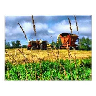 Nuevas granjas septentrionales de Inglaterra Fotografía