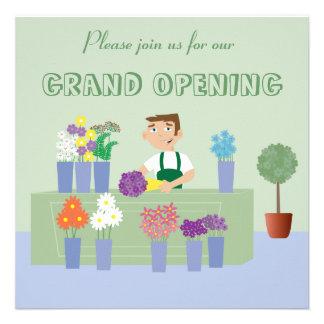 Nuevas invitaciones de la abertura de la tienda de comunicados
