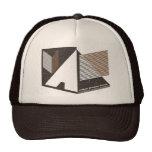 Nuevas líneas frescas de gráfico del vintage de la gorras
