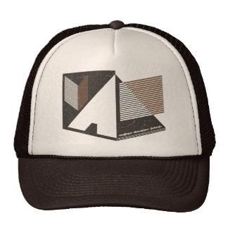 Nuevas líneas frescas de gráfico del vintage de la gorra
