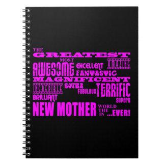 Nuevas madres de la diversión moderna fresca: La n Note Book