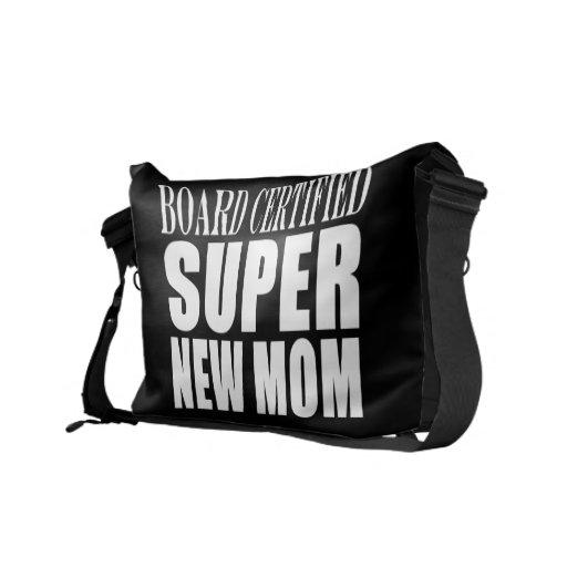 Nuevas madres de las fiestas de bienvenida al bebé bolsa de mensajería