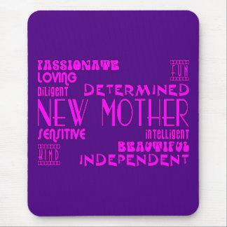 Nuevas madres y nuevas fiestas de bienvenida al alfombrillas de ratón