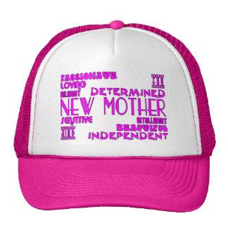 Nuevas madres y nuevas fiestas de bienvenida al be gorros bordados