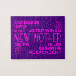 Nuevas madres y nuevas fiestas de bienvenida al be rompecabezas