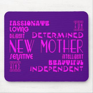 Nuevas madres y nuevas fiestas de bienvenida al be alfombrilla de raton
