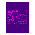 Nuevas madres y nuevas fiestas de bienvenida al be postal