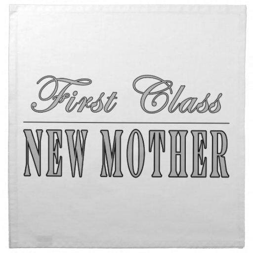 Nuevas mamáes de la diversión elegante: Nueva madr Servilletas Imprimidas