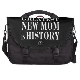 Nuevas mamáes: La nueva mamá más grande en histori Bolsas De Ordenador