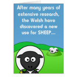 Nuevas ovejas del uso 4 tarjeta de felicitación