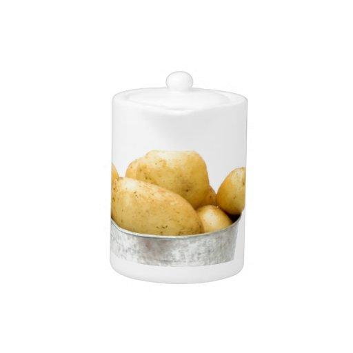 Nuevas patatas orgánicas