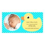 Nuevas tarjetas de la foto del bebé del marco plantilla para tarjeta de foto