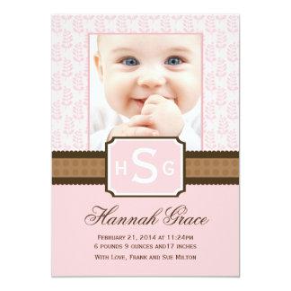 Nuevas tarjetas de la invitación del bebé
