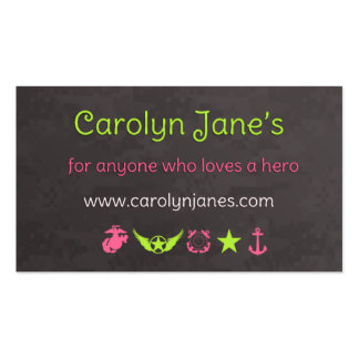 Nuevas tarjetas de la visita de Carolyn Tarjetas De Visita