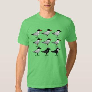 Nueve golondrinas de mar de Birdorable Poleras