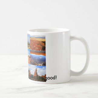 Nueve iconos del paisaje de Utah Taza De Café