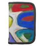 Nueve musas coloridas abstractas planificadores
