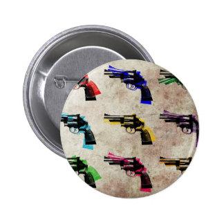 Nueve revólveres pin redondo de 2 pulgadas