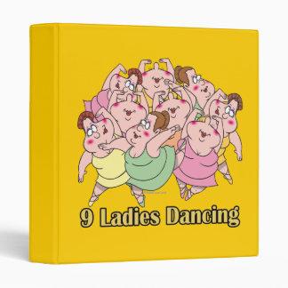 """nueve señoras que bailan el noveno 9no día de navi carpeta 1"""""""