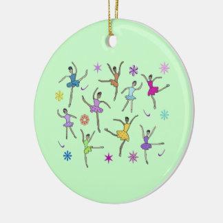 Nueve señoras que bailan el ornamento ornamentos de reyes magos