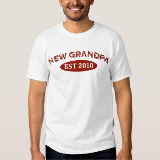 Nuevo abuelo 2010 camisas