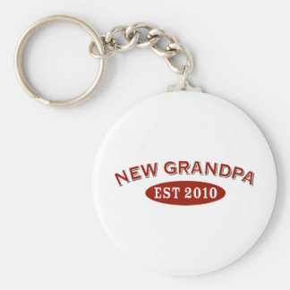 Nuevo abuelo 2010 llavero redondo tipo pin