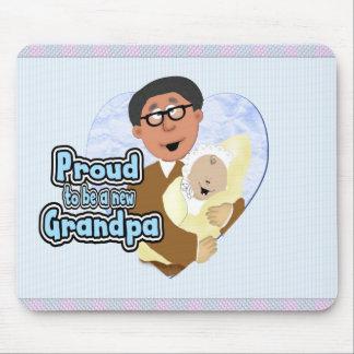 Nuevo abuelo alfombrillas de ratones