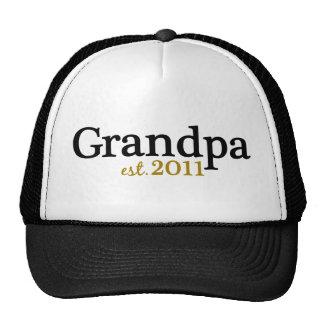 Nuevo abuelo est 2011 gorro de camionero
