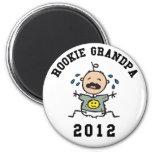 Nuevo abuelo novato 2012 imanes de nevera