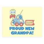 Nuevo abuelo orgulloso es camisetas y regalos de postal