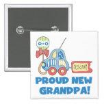 Nuevo abuelo orgulloso es camisetas y regalos de u pin