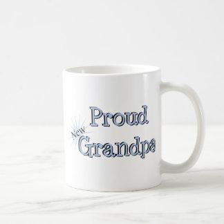 Nuevo abuelo orgulloso taza de café