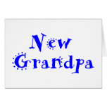 Nuevo abuelo tarjeton