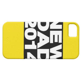 Nuevo amarillo 2014 de LG del papá iPhone 5 Fundas