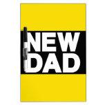Nuevo amarillo de LG del papá Tableros Blancos