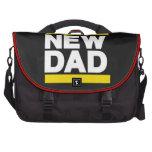 Nuevo amarillo del papá bolsas para ordenador