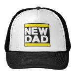 Nuevo amarillo del papá gorros bordados