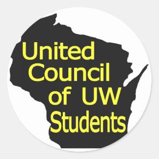 Nuevo amarillo unido del logotipo del consejo en