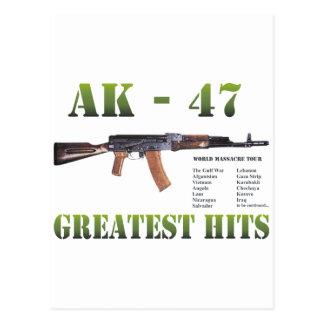 NUEVO ARMA RARO DEL KALASHNIKOV DE AK-47 POSTAL